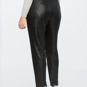 Eloquii Pants - Sequin Joggers